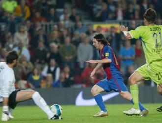 Messi anotó uno de sus mejores goles/ Foto Cortesía