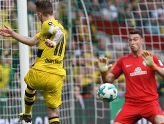 El Bremen le amargó la fiesta / Foto EFE