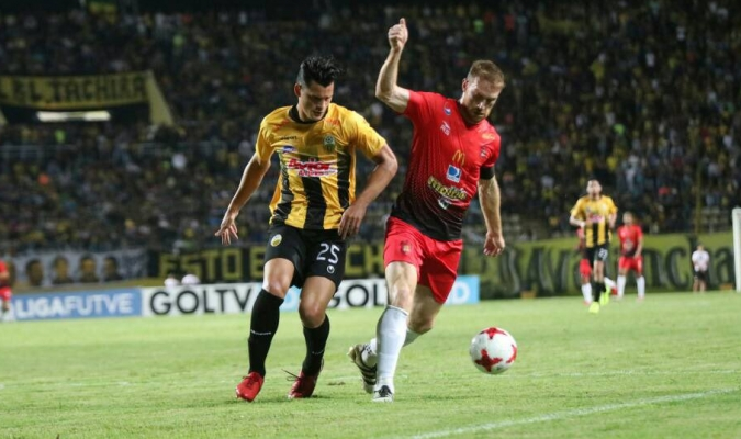 Caracas superó a Táchira en San Cristóbal / Cortesía @Caracas_FC
