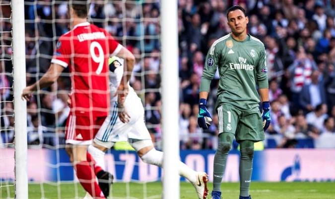 Navas volvió a salvar al Madrid / Foto EFE