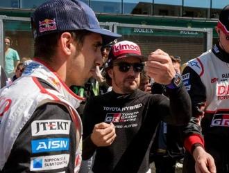Alonso compite en un Toyota TS050-Hybrid/ Foto EFE