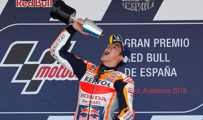Con este triunfo Márquez lidera el Mundial/ Foto AP