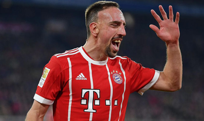 Ribery llegó al Bayern en el 2007/ Foto Cortesía