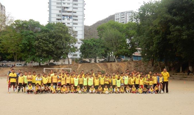 Es una escuela representativa de Caracas    Fotos: Carlos Chacón