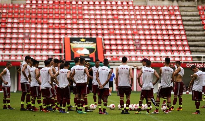 La Vinotinto sub20 se alista para los Suramericanos / Foto Prensa Vinotinto