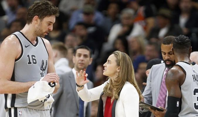 Gasol le gustaría ver el toque femenino en la NBA / Foto Agencias
