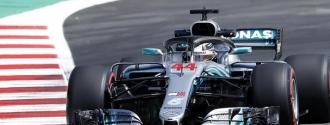 Hamilton dominó la segunda jornada de libres / Foto EFE