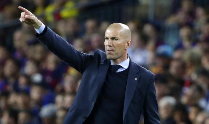 Zidane se cansó de cierto jugador / Foto AP