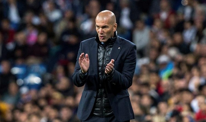 Zidane ya piensa en la final / Foto EFE