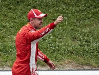 Vettel hizo un balance de la clasificación / Foto EFE