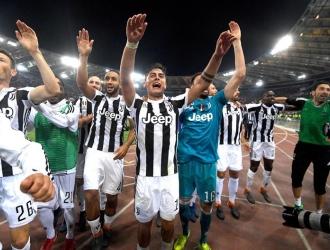 La Juve volvió a celebrar el título / Foto EFE