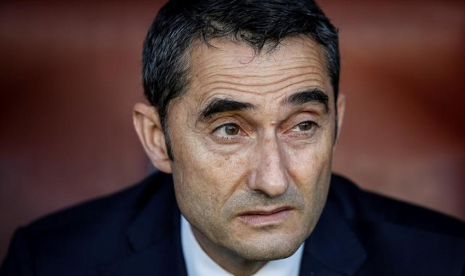 Valverde habló del juego / Foto EFE