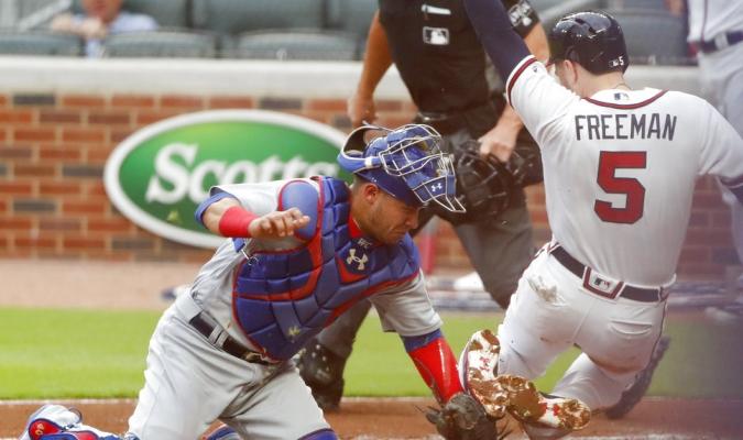 Contreras fue clave en la defensa / Foto AP