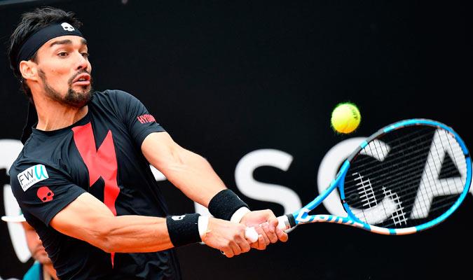 Fognini pudo doblegar al austriaco/ Foto AP
