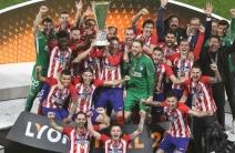 Atlético se coronó en la Europa League