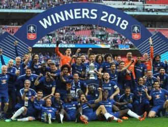 El Chelsea se quedó con su octava FA Cup/ Foto AP