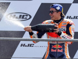 Márquez dominó en la pista de Le Mans/ Foto EFE