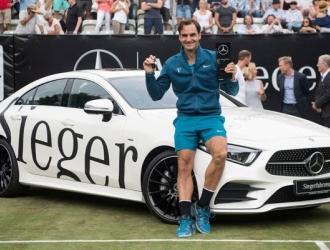 Federer acumula 98 títulos en su carrera/ Foto AP