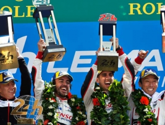 Alonso imprimió su sello en Le Mans/ Foto AP