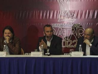 El seleccionador dio una conferencia de prensa || Fotos: César Suárez
