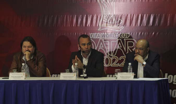 El seleccionador dio una conferencia de prensa    Fotos: César Suárez