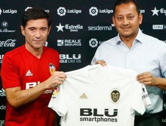 Marcelino renovó su contrato con el Valencia/ Foto @valenciacf
