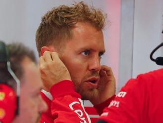 Vettel está a 17 puntos de Hamilton/ Foto AP