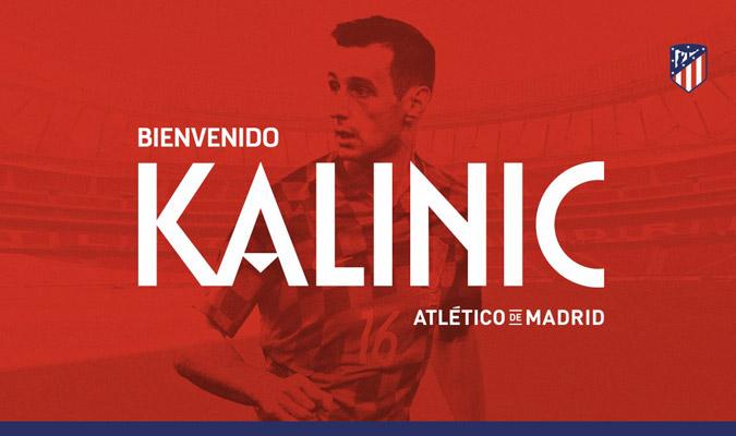 Kalinic es el sexto refuerzo colchonero/ Foto @Atleti