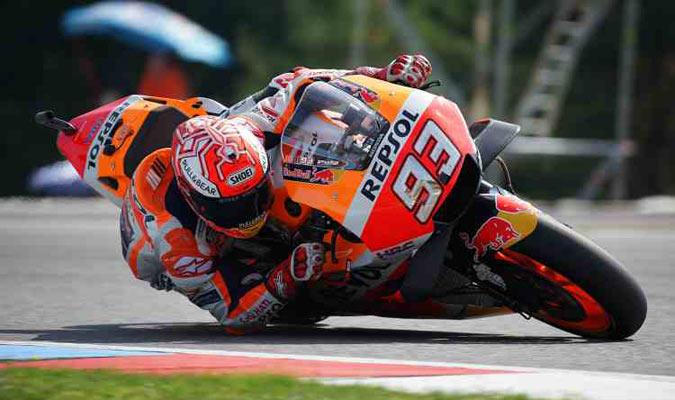Márquez dominó estos segundos entrenamientos/ Foto Cortesía