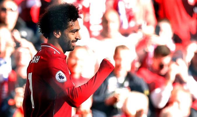 Salah sigue siendo el héroe de los reds/ Foto AP