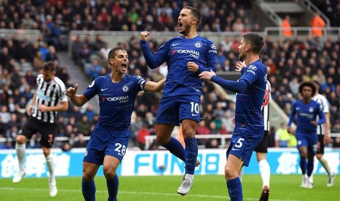 Hazard marcó el primer gol del partido || Foto: Referencial