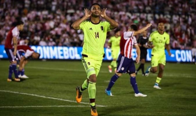 Yangel Herrera marcó el último gol de Venezuela en las Eliminatorias || Foto: Archivo