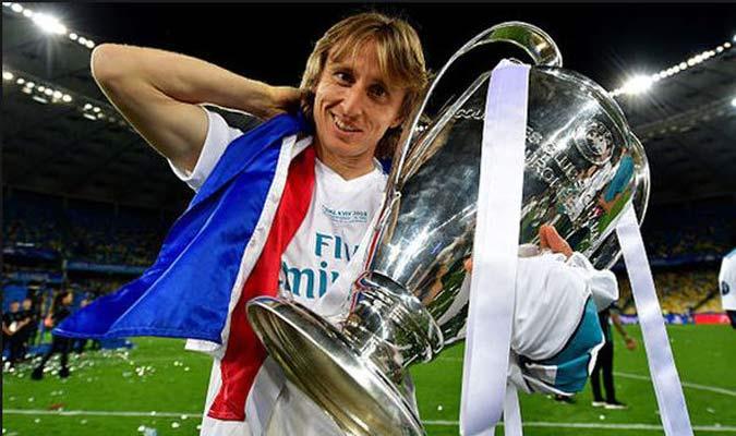 Modric dirigió con maestría al Madrid y a Croacia/Foto Cortesía