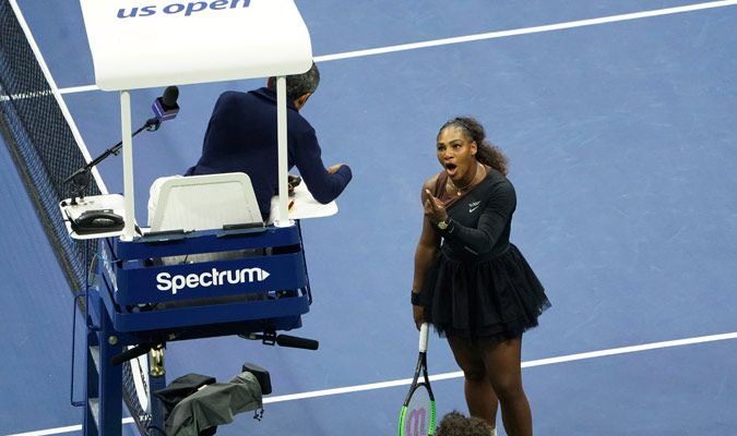 Serena llamó