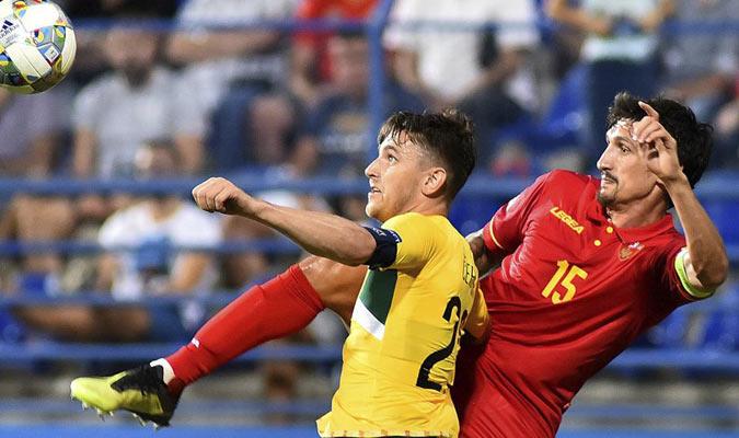 Savic se lesionó jugando para Montenegro/ Foto Cortesía