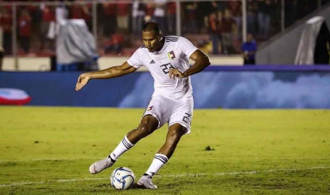 Marcó doblete ante Panamá || Foto: Cortesía