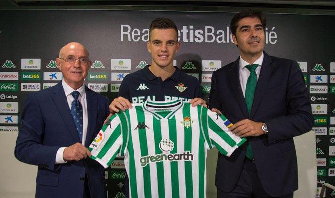 Lo Celso usará el número 21/ Foto realbetisbalompie.es