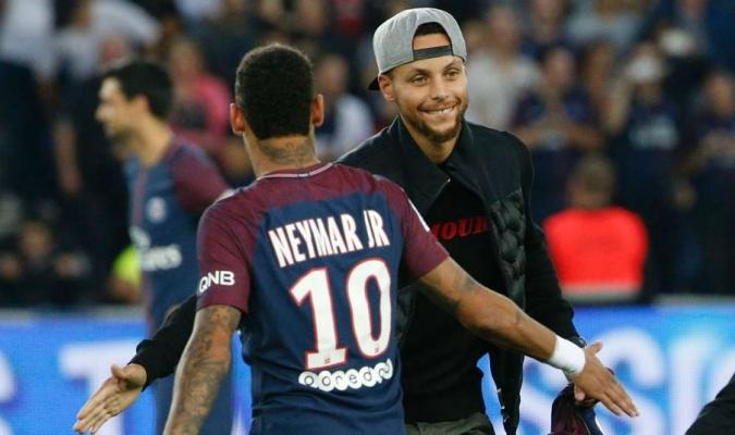 Admiración mutua entre Curry y Neymar Jr 3024d5f57b1