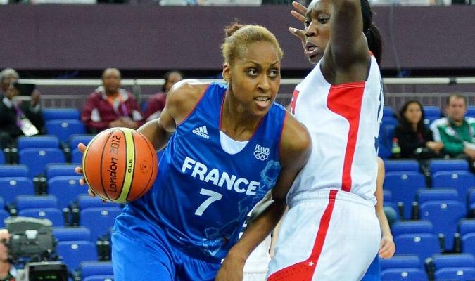 Sandrine Gruda lleva a Francia a los cuartos de final | Baloncesto ...