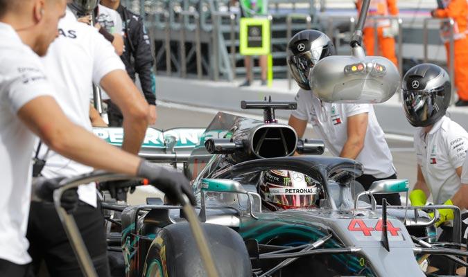Hamilton dominó con un tiempo de 1:33.385/ Foto AP