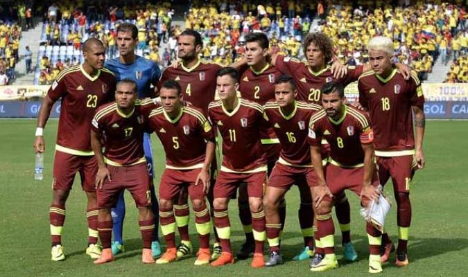 Venezuela se preparaba para enfrentar a Colombia || Foto: Cortesía