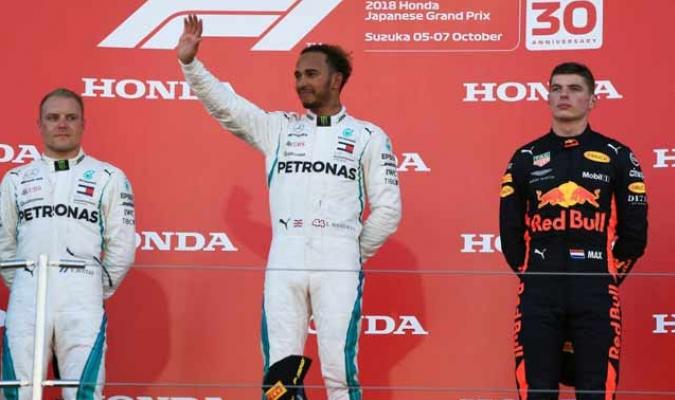 El piloto de Mercedes volvió a triunfar || Foto: Cortesía