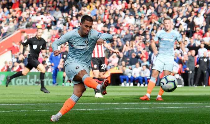 Hazard hizo su séptimo gol en esta liga || Foto: Cortesía
