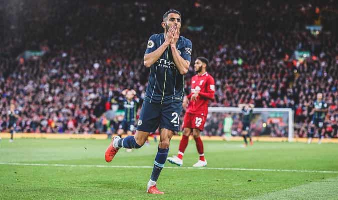 Mahrez falló un penal decisivo || Foto: Cortesía