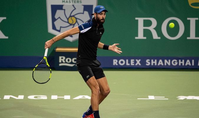 El francés ya le había ganado este año en Copa Davis/ Foto @SH_RolexMasters