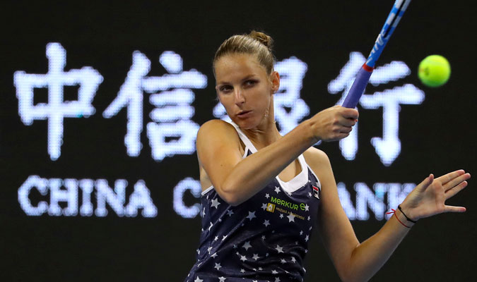 Pliskova debe llegar a semis para meterse en Singapur/ Foto AP