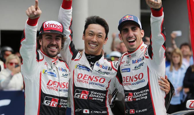 Alonso esta acompañado en su equipo por Buemi y Nakajima/ Foto Cortesía
