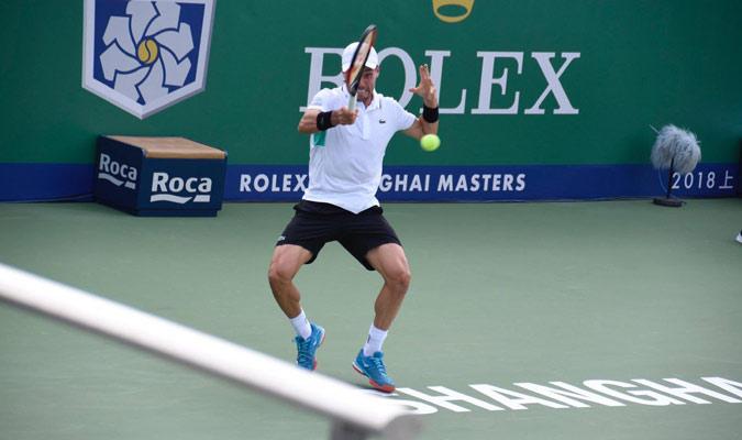 Bautista enfrentará a Federer en octavos/ Foto @BautistaAgut