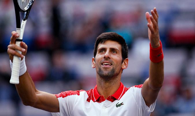 El serbio se vengó de su derrota en Roland Garros/ Foto AP