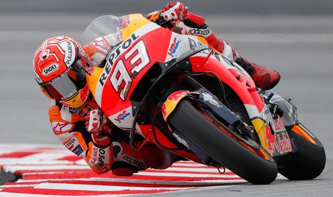 Márquez reconoció que estorbó a Iannone/ Foto AP